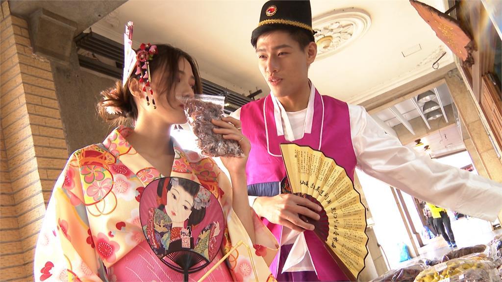 道地日、韓風任你選!禮服業者搭偽出國風潮 推出變裝方案