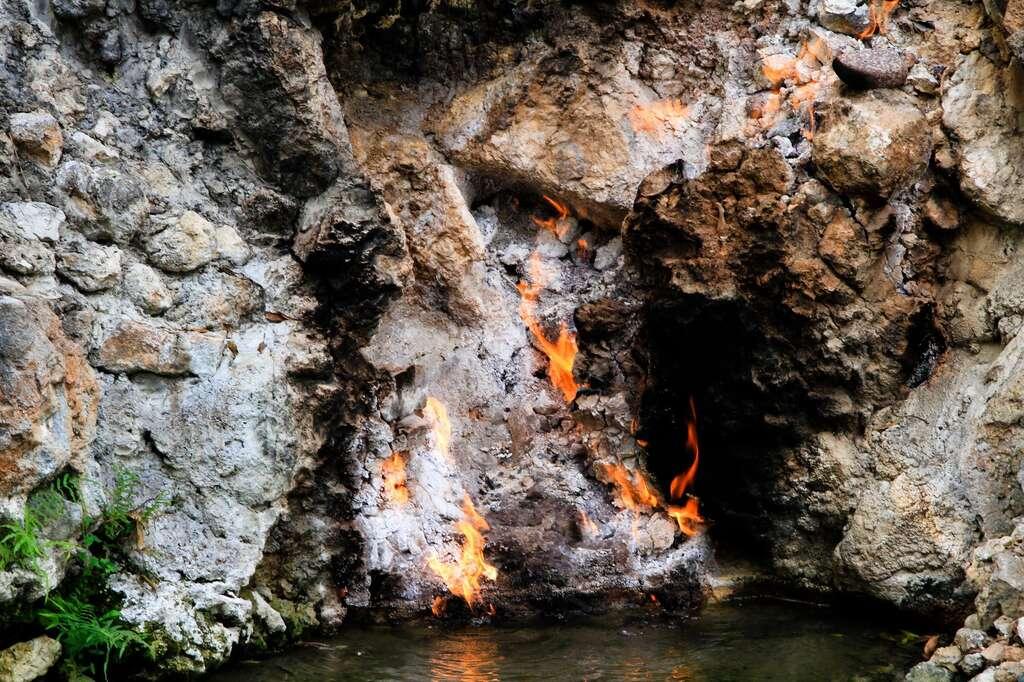 台南知名觀光景點「水火同源」 爆連日缺水已乾涸!