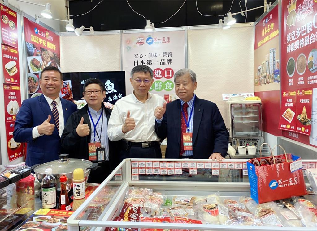 台北家電3C展世貿一館盛大展出 柯文哲連逛多家攤位