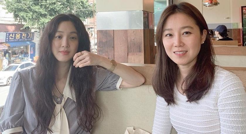 韓劇女王孔曉振「閨密聚會」成員超狂 每個都是九頭身女神!