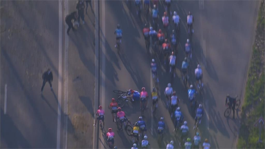 巴黎至尼斯自由車賽 兩屆冠軍摔傷骨盆退賽