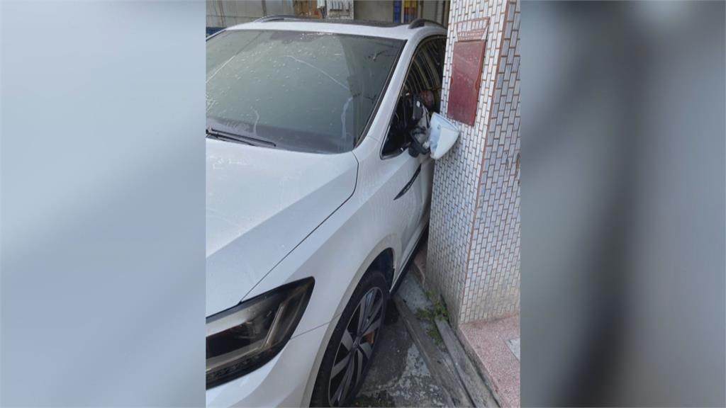 酒駕失控撞民宅 肇事車主竟誆「代駕開的」