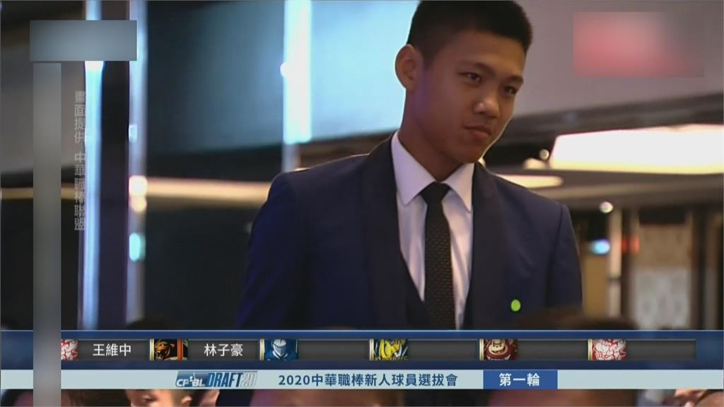19歲榜眼林子豪 4安5打點創中職最年輕紀錄