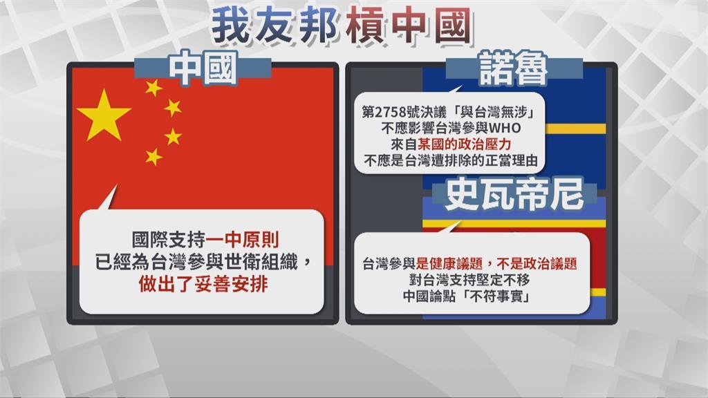 中國再提一中打壓台灣 台灣再度遭拒絕參與WHA