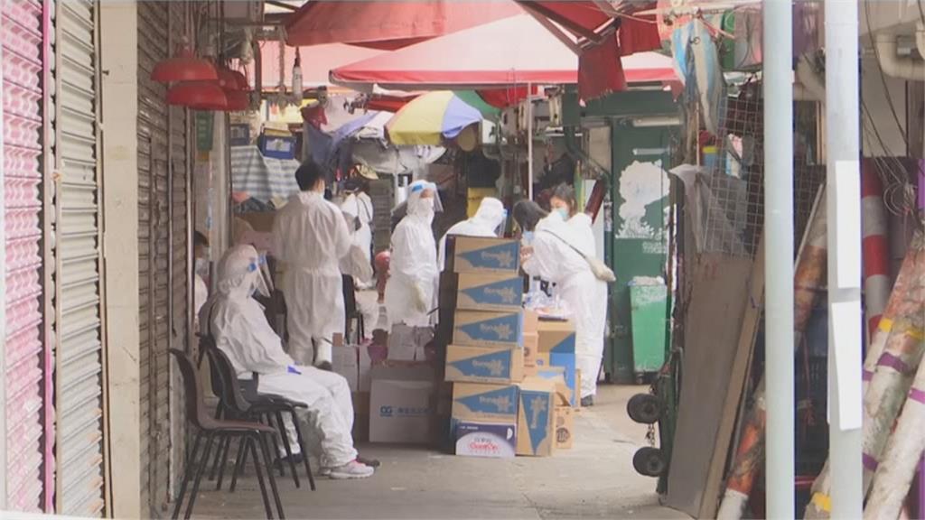 香港九龍「受限區」普篩 檢測7千人驗出13名確診