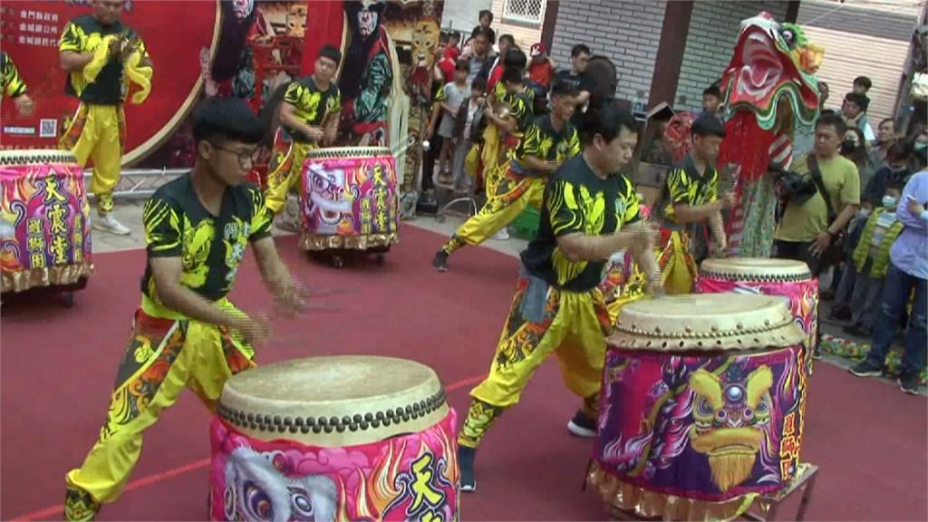 浯島城隍文化觀光季起跑 「蜈蚣座」嘉年華