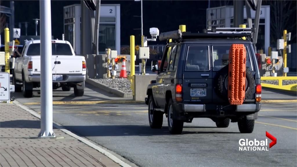 加國入境須自費隔離三天 有人改走陸路規避