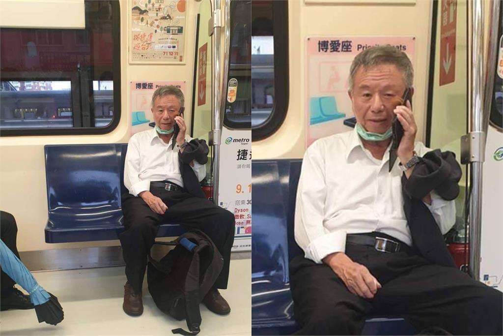 快新聞/「捷運脫口罩講電話」挨轟 楊志良認錯:該罰就罰