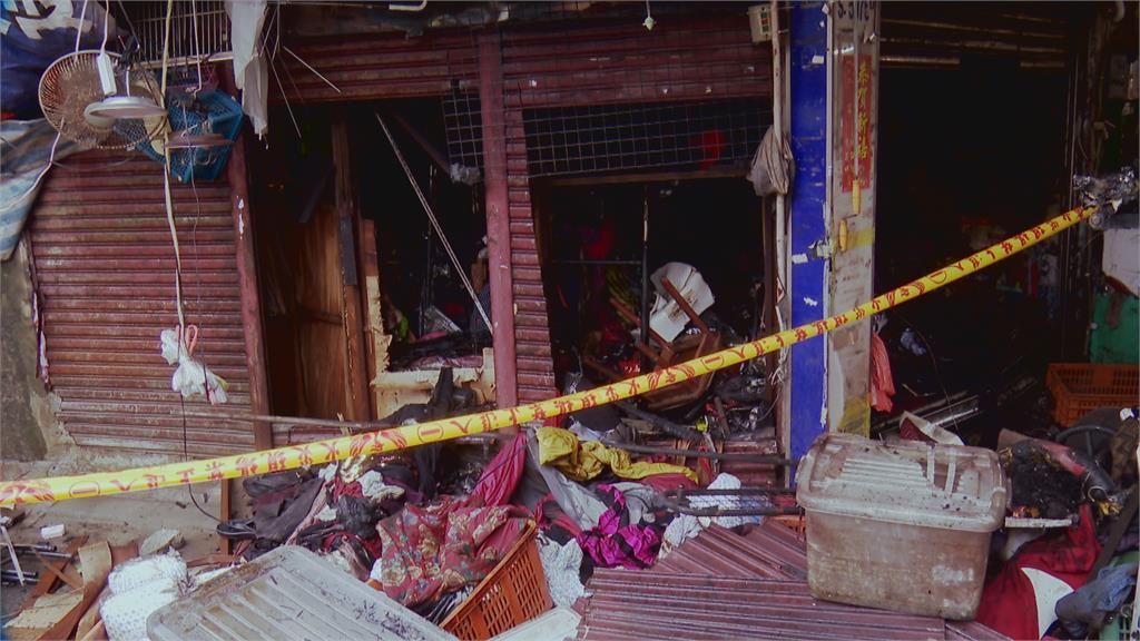 中和華泰市場發生火警 樓上住戶14送醫