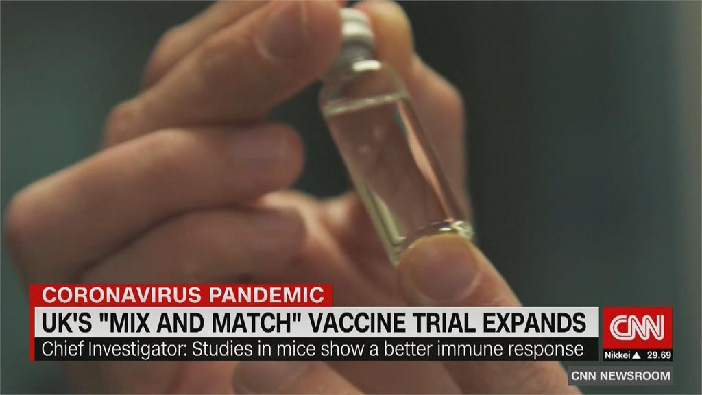 測試「疫苗混打」 英納入莫德納、Novavax擴大試驗
