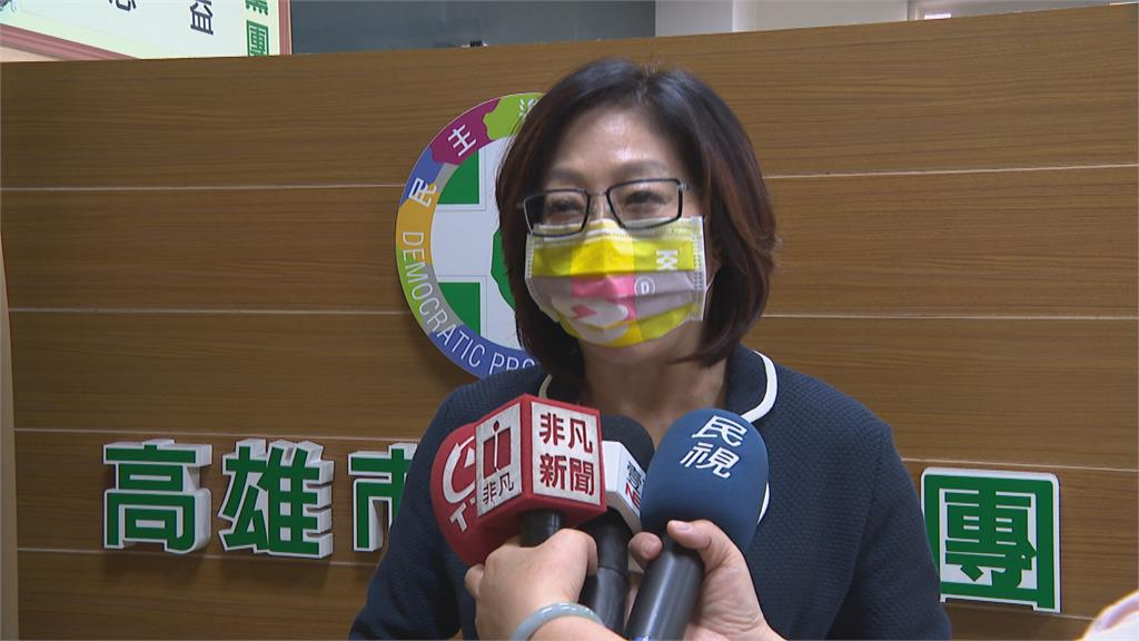 高雄市議會備詢官員「沒距離」 議員林智鴻要求梅花座輪流備詢