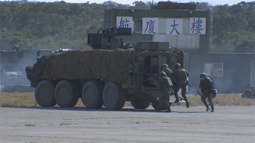桃機航廈攻防戰 陸軍聯兵營操練反滲透