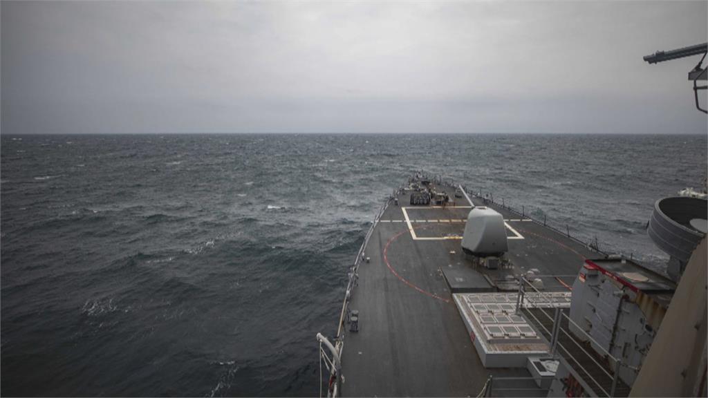 美驅逐艦馬侃號通過台海 美國:保有能力抵抗武力行動