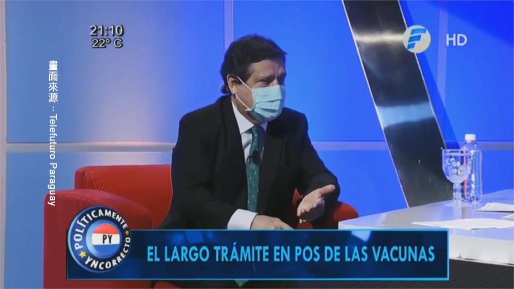 巴拉圭恐為疫苗「棄台挺中」?外交部澄清:台巴邦誼穩固