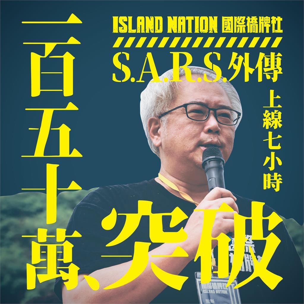 《國際橋牌社》籌拍SARS外傳不到一天突破250萬!製作人發文「跪謝」網友