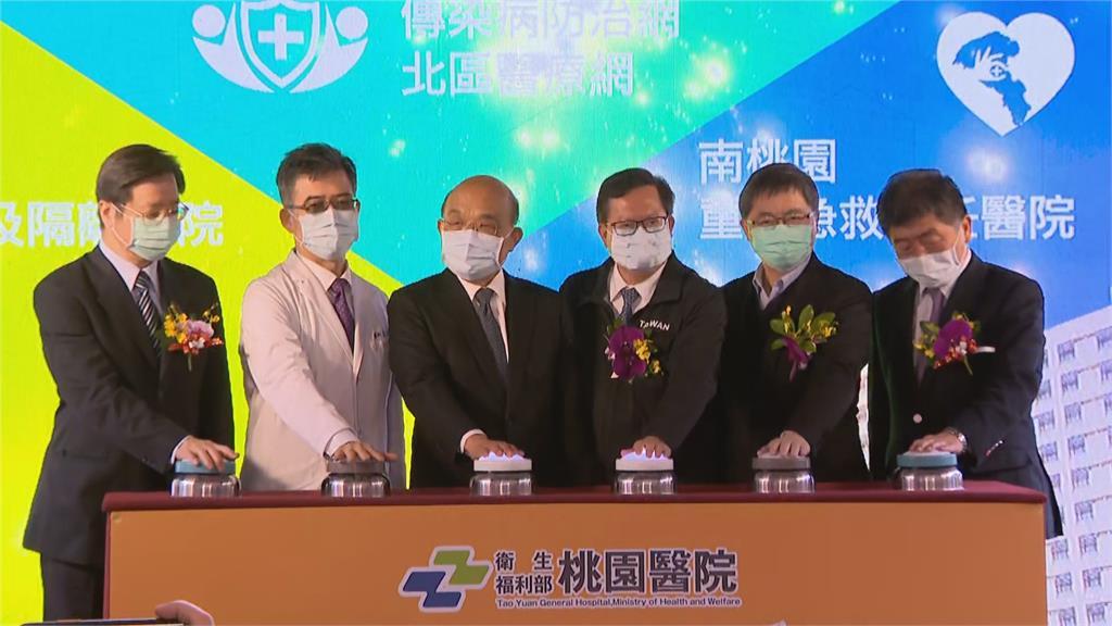 快新聞/部桃重啟復工 蘇貞昌:再強病毒都比不過團結人心