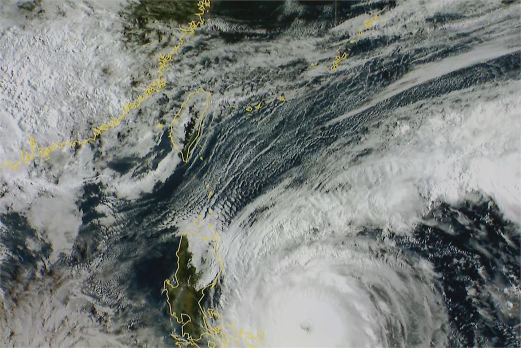 快新聞/強颱舒力基最新路徑出爐! 22日最接近台灣 氣象局曝降雨熱區