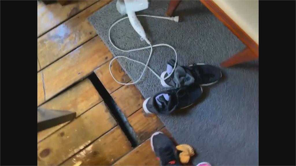 溫泉會館木地板崩壞民眾怒控小腿遭刮濺血