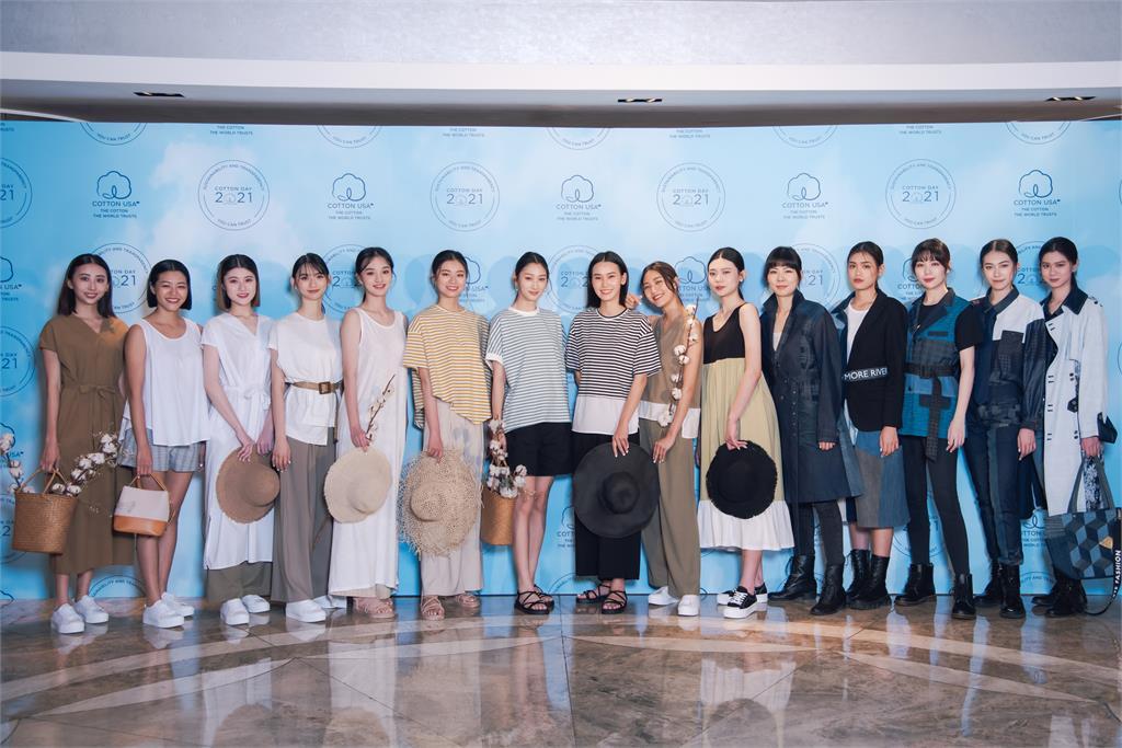 台灣美棉日 Bii畢書盡呼籲紡織品材質及永續透明供應鏈的重要性