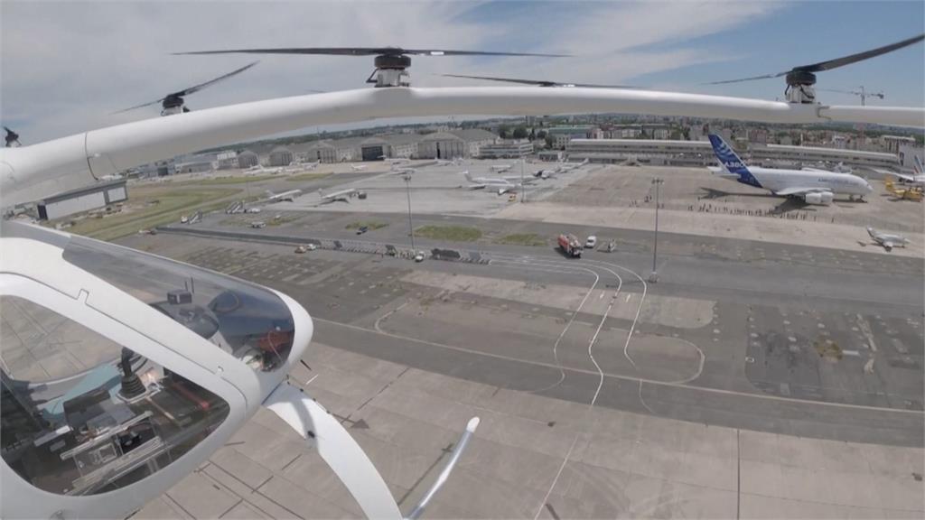 德國廠商飛天計程車試飛成功 擬20244巴黎奧運載客