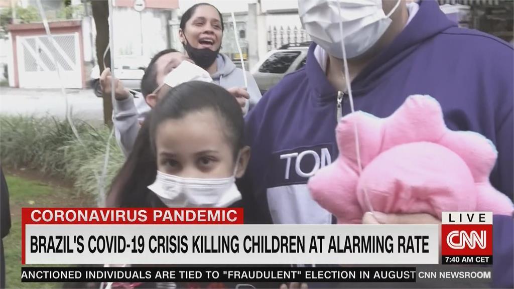 巴西千名孩童死於武肺 5個月大女童難敵武肺逝世