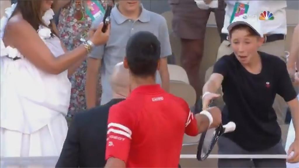網球/喬帥法網逆轉奪冠!「他」指導戰術有功獲冠軍球拍