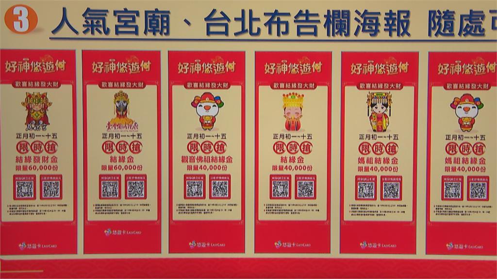 宮廟停辦搶頭香  北市府發起「線上」領取發財金