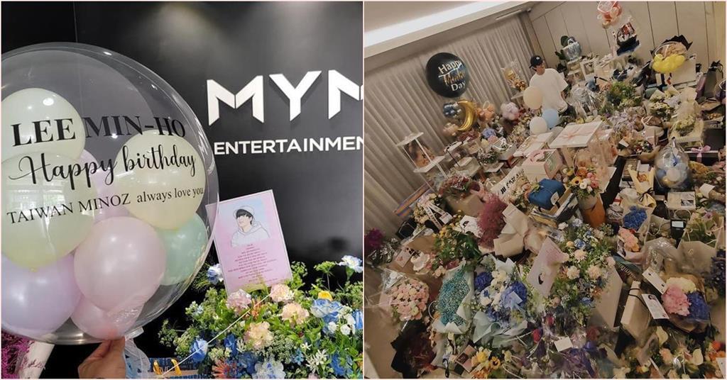 李敏鎬生日吸引全球粉絲同慶 禮物堆滿房讓網友驚嘆:一輩子禮物也沒他一半