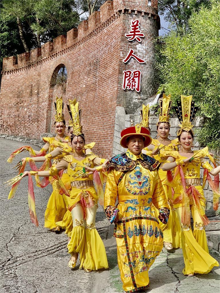 春節連假台灣白河萬里長城 看千手千眼觀音秀