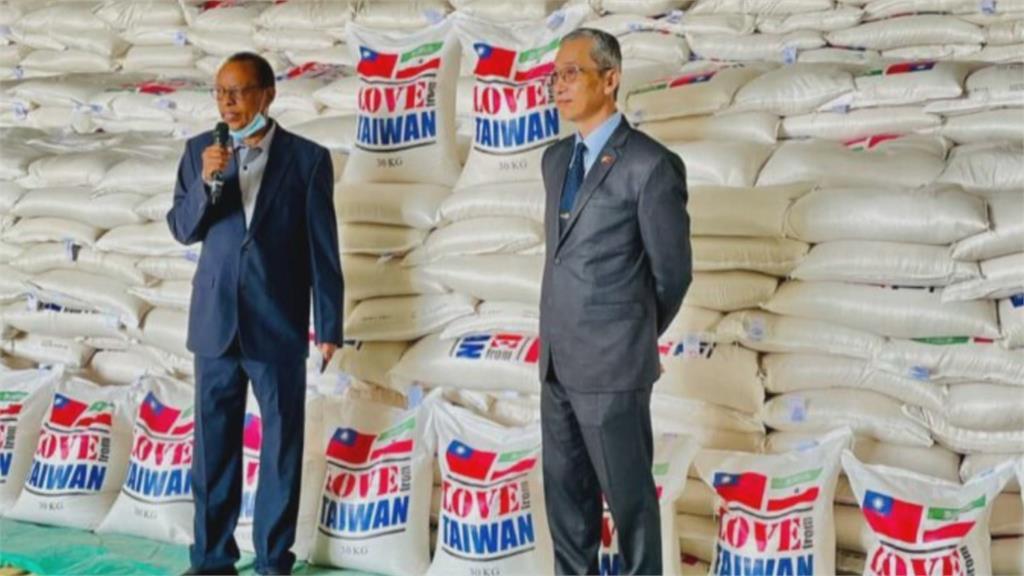 風雨見真情!友邦索馬利蘭鬧飢荒 我國火速馳援560噸白米