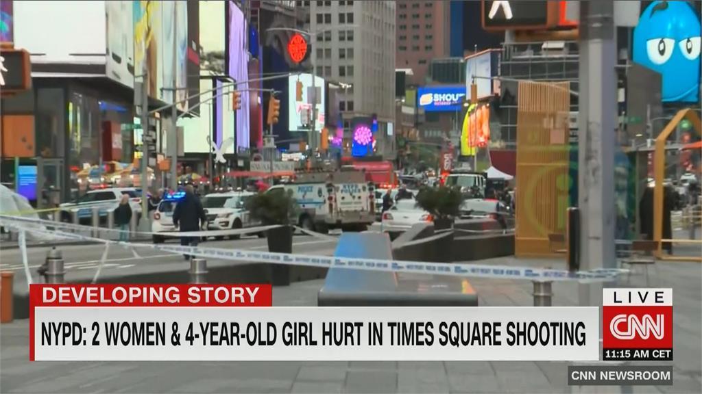 4歲女童無辜遭波及 紐約時報廣場槍擊案釀3傷