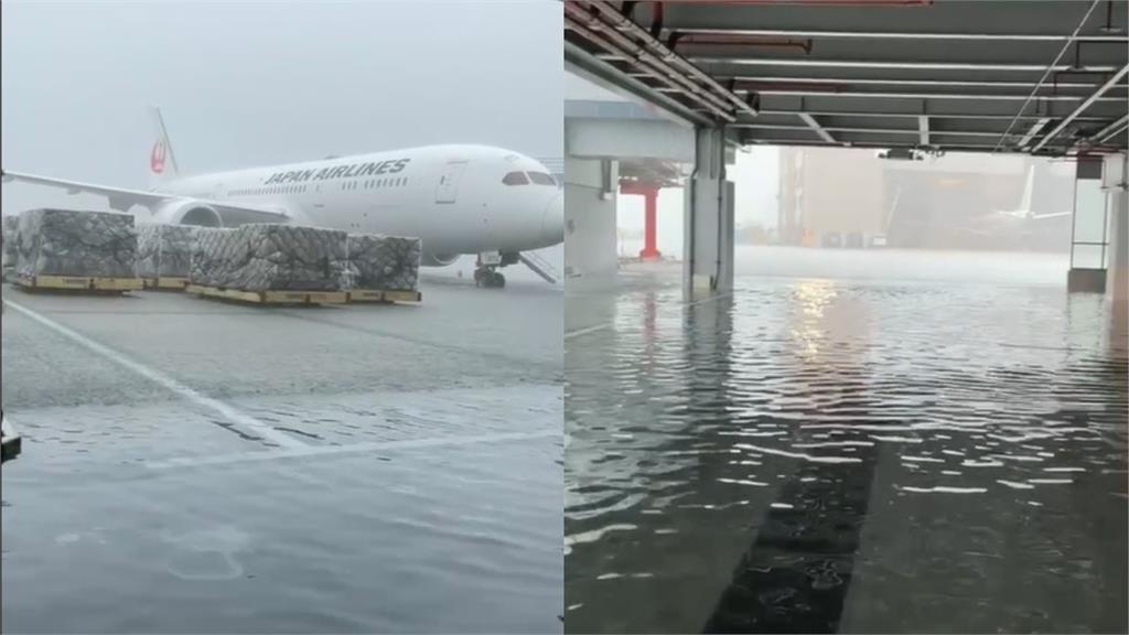 大雷雨轟炸北台灣!信義區慘淹成汪洋 汽機車全成「水上交通」