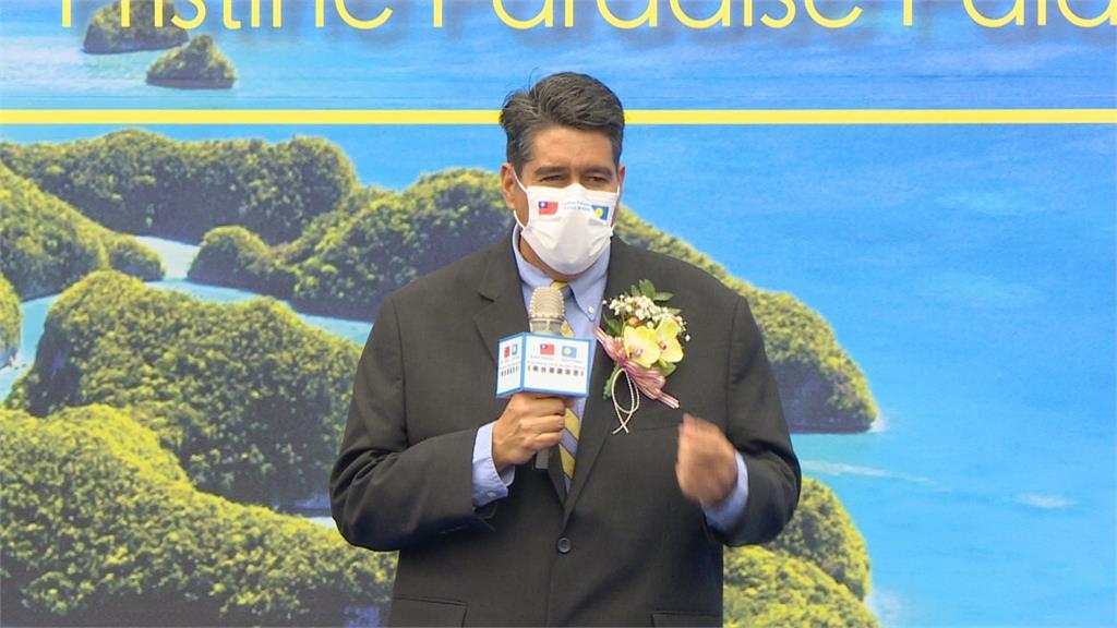 帛琉總統惠恕仁拒中威脅利誘!  賴清德大讚