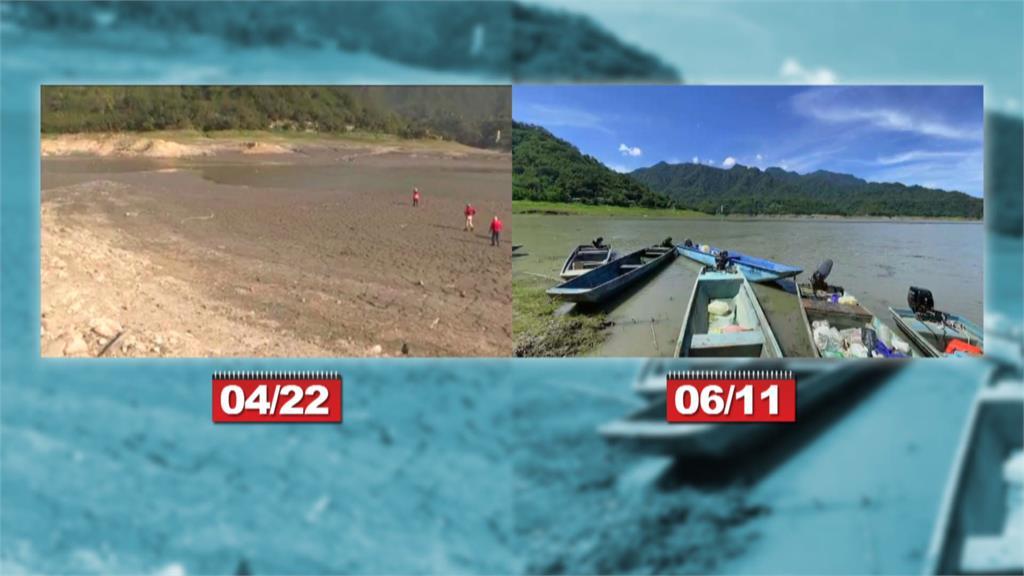 受惠梅雨、午後雷陣雨石門水庫蓄水率破40%
