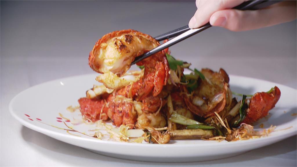 三蔥龍蝦超清爽!青蔥、乾蔥及紅蔥頭堆疊層次
