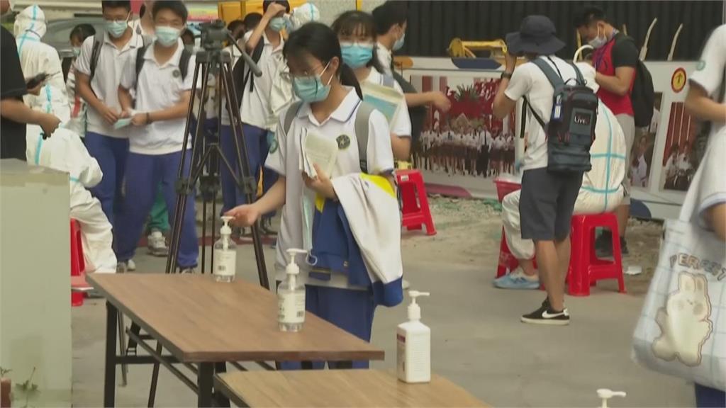 廣東「考」在瘟疫蔓延時 疫情中如期舉行高考