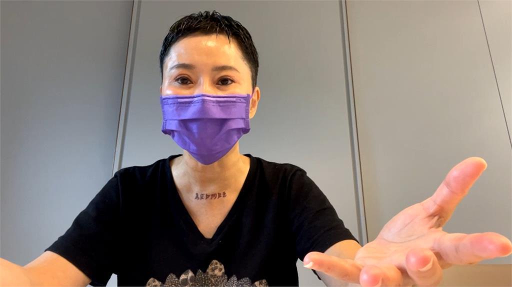 詹雅雯「超短髮造型」曝近況!秀「6字刺青」背後意涵有洋蔥