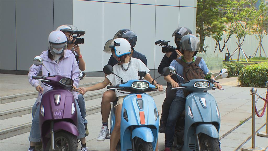 首次挑戰電動車環台 段慧琳只怕會「騎到沒電」