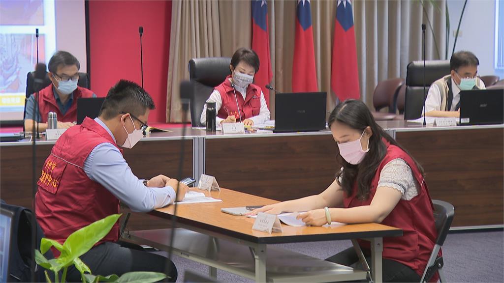 台中市府召開疫情兵推 宣布夜市、11大場所暫停營業