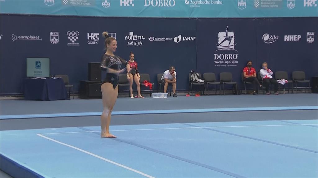 克羅埃西亞兩好手奪金 獲東奧體操門票