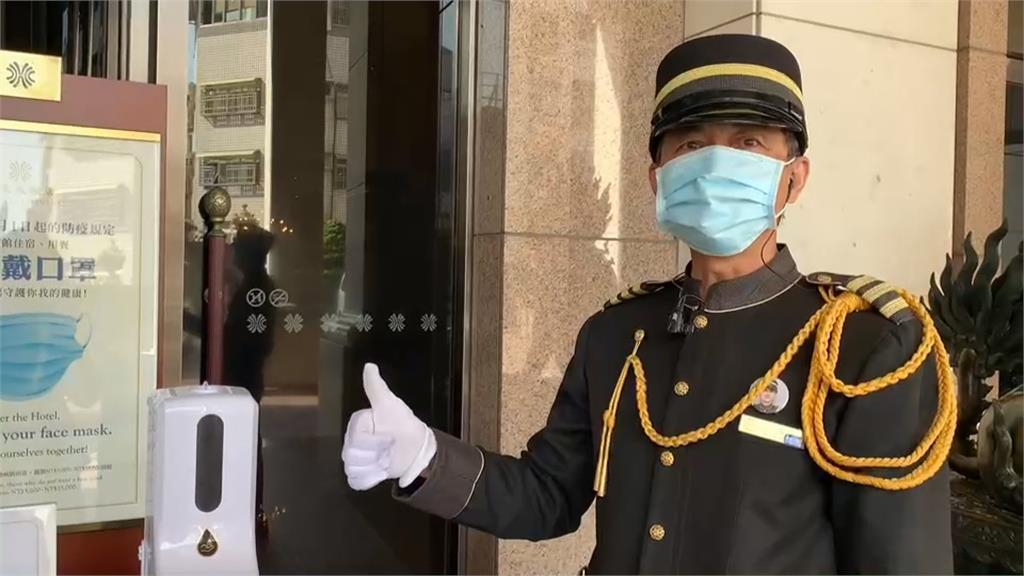 疫情嚴峻 高雄飯店拍片點燈力挺部桃醫護