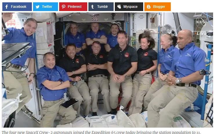 承認外星人?太空船與國際太空站成功對接 NASA證:不明物體接近