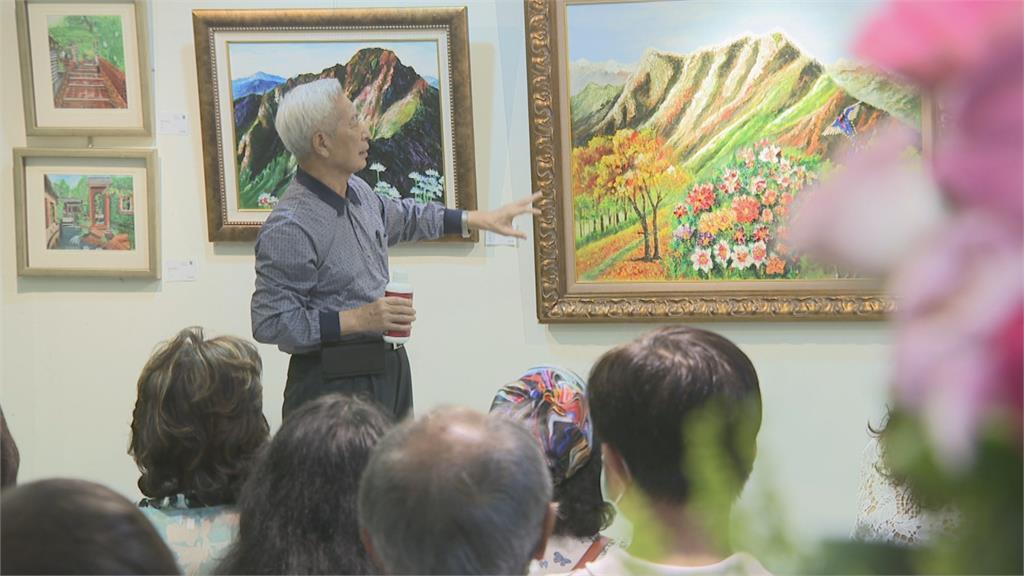 12年罹3癌症 前立委尤宏靠畫畫療癒身心