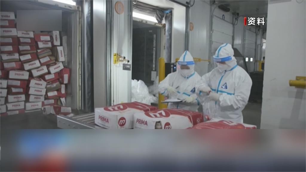 中國暴增117例本土 浦東機場加強消毒冷鏈進口