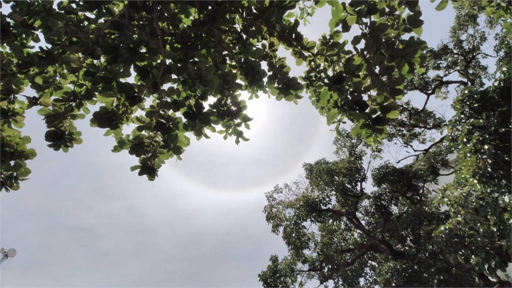 快新聞/台東出現「日暈」美景 民眾直呼好美:今天是好日子