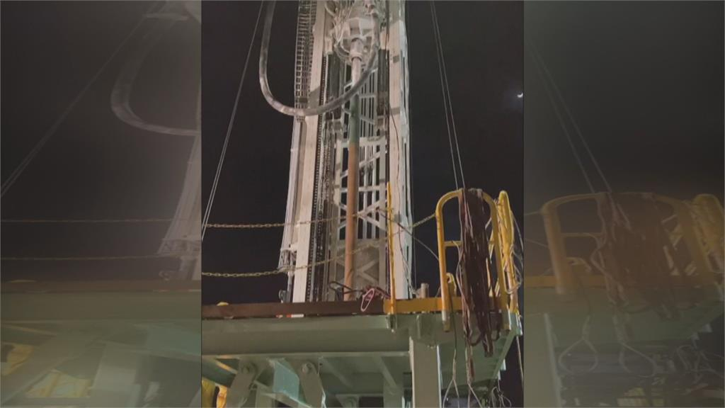 中油祭「國家級鑽油設備」 苗栗鯉魚潭淨水廠開鑿水井