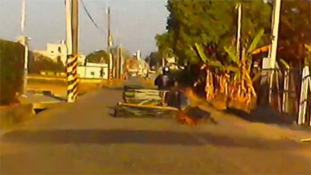 囂張!賊連棚式活動車庫也偷供稱為了養雞鴨