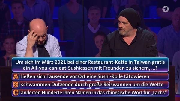快新聞/台灣「鮭魚之亂」變德國益智節目考題 全場聽到正解笑到併軌