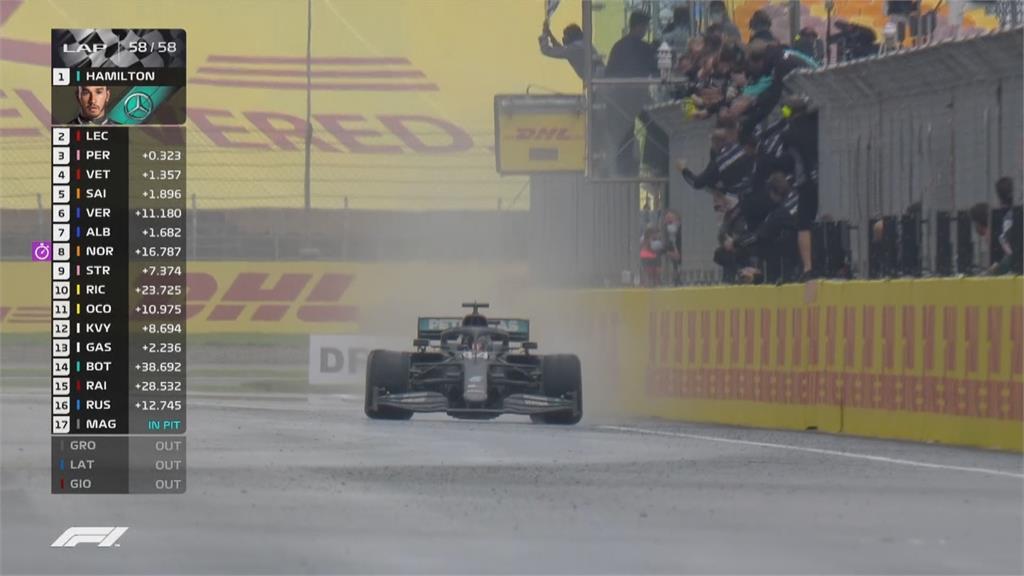 F1賓士新戰車亮相 車王挑戰破紀錄第八冠