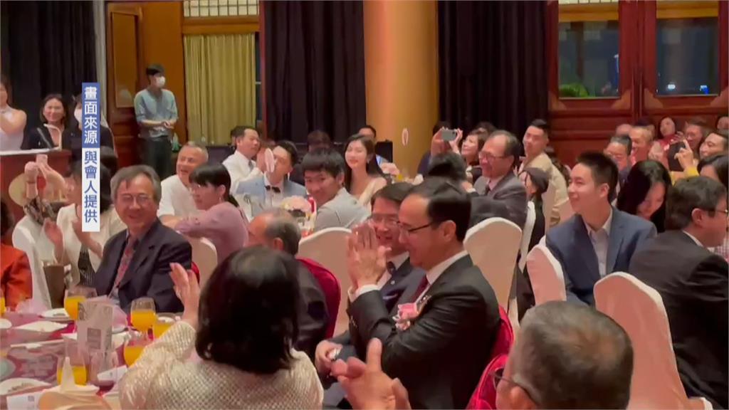 出席朱立倫外甥婚禮 竟稱「換朱立倫進總統府」 新書發表會 呂秀蓮澄清:這是玩笑話